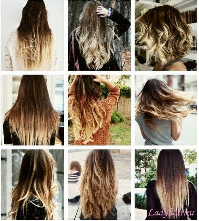 Как красить длинные волосы в домашних условиях 716